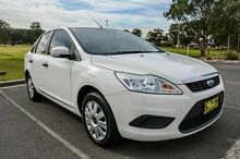 2010 Ford Focus LV CL White 4 Speed Automatic Sedan Wetherill Park Fairfield Area Preview