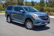 2014 Mazda BT-50 UP0YF1 XTR Blue 6 Speed Sports Automatic Utility Wilson Canning Area Preview