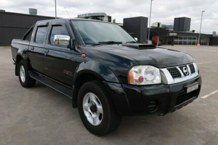2011 Nissan Navara D22 S5 ST-R Black 5 Speed Manual Utility