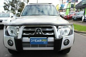 2012 Mitsubishi Pajero NW MY12 Exceed Champagne 5 Speed Sports Automatic Wagon