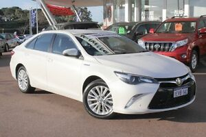 2015 Toyota Camry AVV50R Atara SL Crystal Pearl 1 Speed Constant Variable Sedan Myaree Melville Area Preview