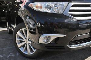 2012 Toyota Kluger GSU40R MY11 Upgrade Altitude (FWD) 7 Seat Black 5 Speed Automatic Wagon Mosman Mosman Area Preview