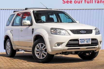2012 Ford Escape ZD MY10 White 4 Speed Automatic Wagon Embleton Bayswater Area Preview