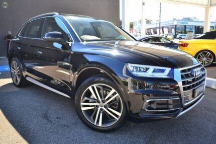 2017 Audi Q5 FY MY17 TFSI S tronic quattro ultra sport Black 7 Speed Sports Automatic Dual Clutch