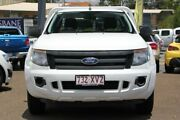 2012 Ford Ranger PX XL 4x2 White 6 Speed Manual Cab Chassis Chermside Brisbane North East Preview