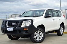 2012 Toyota Landcruiser Prado KDJ150R GX White 5 Speed Sports Automatic Wagon Midland Swan Area Preview
