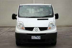 2013 Renault Trafic X83 Phase 3 Low Roof LWB Quickshift White 6 Speed Seq Manual Auto-Clutch Van Seaford Frankston Area Preview