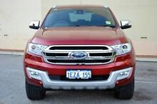 2015 Ford Everest UA Titanium Maroon 6 Speed Sports Automatic Wagon Midland Swan Area Preview