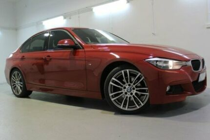 2015 BMW 320i  Red Auto Seq Sportshift Sedan Launceston 7250 Launceston Area Preview