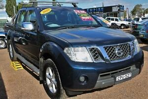 2010 Nissan Navara D40 MY10 ST-X Blue 5 Speed Automatic Utility Colyton Penrith Area Preview