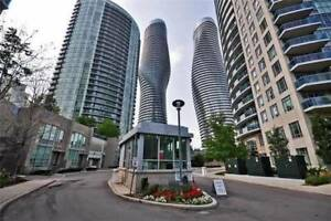 Well Maintained 2BR Corner Suite Located In Mississauga