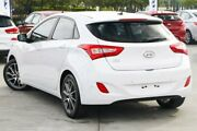 2015 Hyundai i30 GD3 Series II MY16 Elite White 6 Speed Sports Automatic Hatchback Hillcrest Logan Area Preview