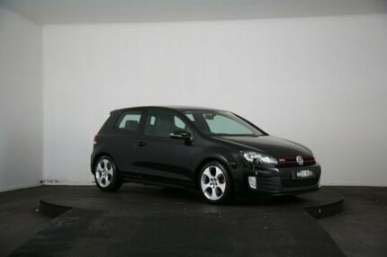 2011 Volkswagen Golf 1K MY11 GTi Black 6 Speed Direct Shift Hatchback McGraths Hill Hawkesbury Area Preview