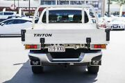 2015 Mitsubishi Triton MQ MY16 Exceed Double Cab White 5 Speed Sports Automatic Utility Mount Gravatt Brisbane South East Preview