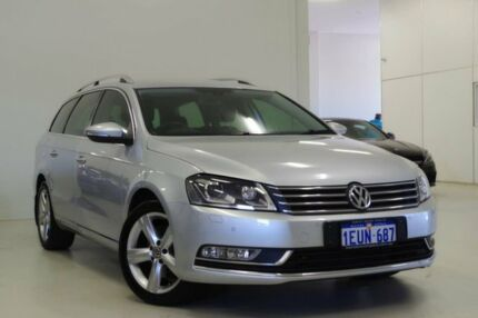 2015 Volkswagen Passat Type 3C MY15 118TSI DSG Silver 7 Speed Sports Automatic Dual Clutch Wagon Myaree Melville Area Preview