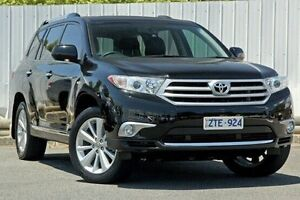2013 Toyota Kluger GSU45R MY12 Grande AWD Black 5 Speed Sports Automatic Wagon Lilydale Yarra Ranges Preview
