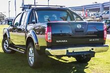 2013 Nissan Navara D40 S5 MY12 ST-X 550 Black 7 Speed Sports Automatic Utility Wangara Wanneroo Area Preview