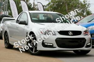 2016 Holden Ute VF II MY16 SS Ute Black Blue 6 Speed Sports Automatic Utility Christies Beach Morphett Vale Area Preview