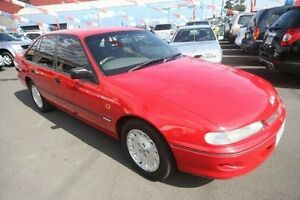 1995 Holden Commodore VR II Executive Red 4 Speed Automatic Sedan Kingsville Maribyrnong Area Preview
