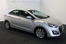 2014 Hyundai i30 GD MY14 Active Sleek Silver 6 Speed Automatic Hatchback Derwent Park Glenorchy Area Preview