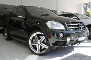 2006 Mercedes-Benz ML63 W164 Black 7 Speed Sports Automatic Wagon North Melbourne Melbourne City Preview