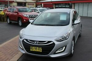 2013 Hyundai i30 GD Tourer Active 1.6 GDi Silver 6 Speed Automatic Wagon South Maitland Maitland Area Preview