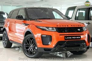 2016 Land Rover Range Rover Evoque L538 MY16.5 TD4 180 HSE Dynamic Phoenix Orange 9 Speed Pearce Woden Valley Preview