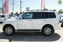 2016 Mitsubishi Pajero NX MY16 GLS LWB (4x4) White 5 Speed Auto Sports Mode Wagon Wilson Canning Area Preview