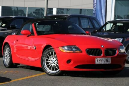2003 BMW Z4 E85 Steptronic Red 5 Speed Sports Automatic Roadster