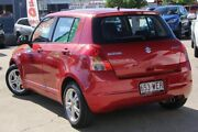 2008 Suzuki Swift RS415 GLX Red 4 Speed Automatic Hatchback Kippa-ring Redcliffe Area Preview