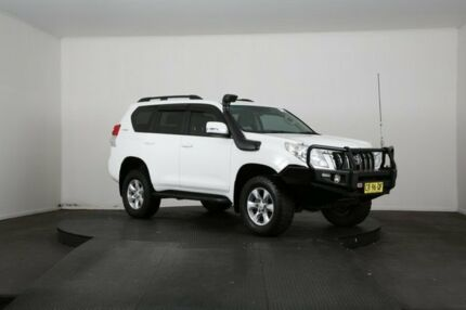 2012 Toyota Landcruiser Prado KDJ150R 11 Upgrade GXL (4x4) White 5 Speed Sequential Auto Wagon McGraths Hill Hawkesbury Area Preview
