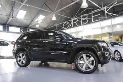 2013 Jeep Grand Cherokee WK MY13 Overland (4x4) Black 8 Speed Automatic Wagon