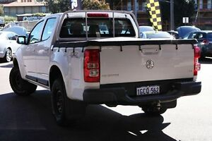 2012 Holden Colorado RG MY13 LX Crew Cab White 5 Speed Manual Utility Northbridge Perth City Area Preview