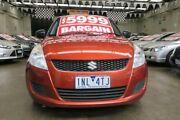 2011 Suzuki Swift FZ GA 5 Speed Manual Hatchback Mordialloc Kingston Area Preview