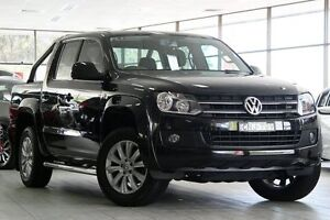 2011 Volkswagen Amarok 2H MY12 TDI400 Trendline (4x4) Black 6 Speed Manual Dual Cab Chassis Roseville Ku-ring-gai Area Preview