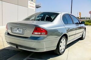 2003 Ford Falcon BA XT Grey 4 Speed Sports Automatic Sedan Pakenham Cardinia Area Preview