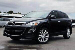 2012 Mazda CX-9 TB10A4 MY12 Luxury Black 6 Speed Sports Automatic Wagon Nunawading Whitehorse Area Preview