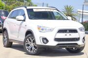 2015 Mitsubishi ASX XB MY15 LS 2WD White 6 Speed Constant Variable Wagon Jamboree Heights Brisbane South West Preview