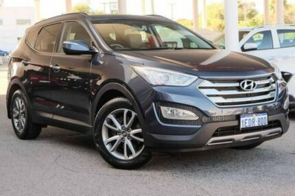 2013 Hyundai Santa Fe DM MY13 Elite Blue 6 Speed Sports Automatic Wagon Osborne Park Stirling Area Preview