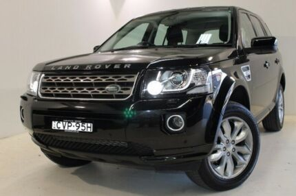 2014 Land Rover Freelander 2 LF MY14 SD4 CommandShift SE Black 6 Speed Sports Automatic Wagon