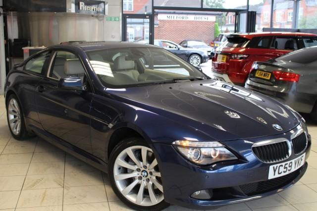 2009 59 BMW 6 SERIES 3.0 635D SPORT 2D AUTO 282 BHP DIESEL