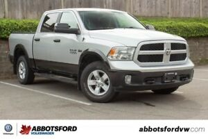 2016 Ram 1500 Outdoorsman ONE OWNER, NO ACCIDENTS, B.C. TRUCK!