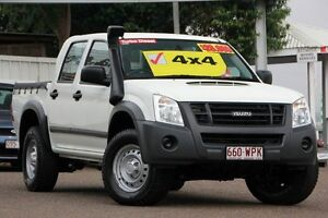 2011 Isuzu D-MAX MY11 SX White 5 Speed Manual Cab Chassis Moorooka Brisbane South West Preview