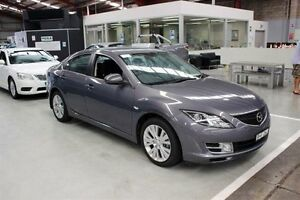 2008 Mazda 6 GH1051 Classic Blue 5 Speed Sports Automatic Sedan Maryville Newcastle Area Preview
