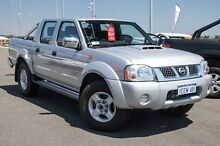 2013 Nissan Navara D22 Series 5 ST-R (4x4) Silver 5 Speed Manual Dual Cab Pick-up Wangara Wanneroo Area Preview