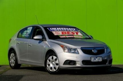 2012 Holden Cruze JH Series II MY12 CD Silver 6 Speed Sports Automatic Hatchback Ringwood East Maroondah Area Preview