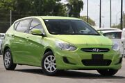 2012 Hyundai Accent RB Active Green 4 Speed Sports Automatic Hatchback Brendale Pine Rivers Area Preview