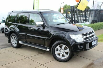 2010 Mitsubishi Pajero NT MY10 RX Black 5 Speed Sports Automatic Wagon Beaconsfield Cardinia Area Preview