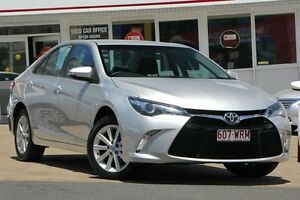 2015 Toyota Camry ASV50R Atara S Silver Pearl 6 Speed Sports Automatic Sedan Woolloongabba Brisbane South West Preview