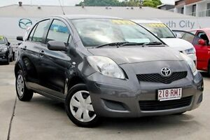 2009 Toyota Yaris NCP90R MY09 YR Grey 4 Speed Automatic Hatchback Mount Gravatt Brisbane South East Preview